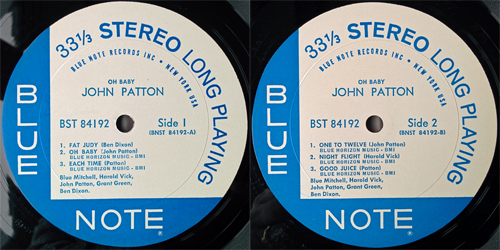 john patton - oh baby! - labels