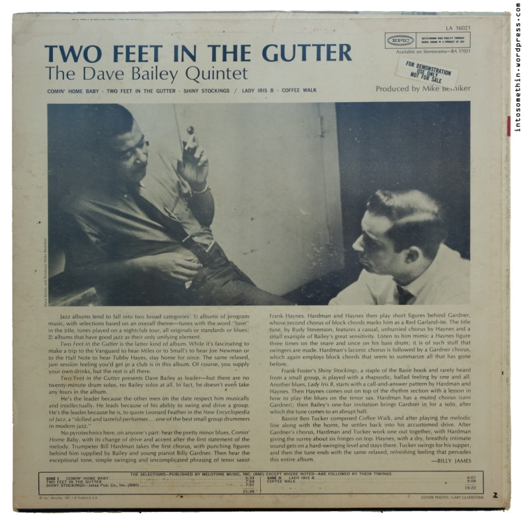 dave-bailey - two feet in the gutter - rear