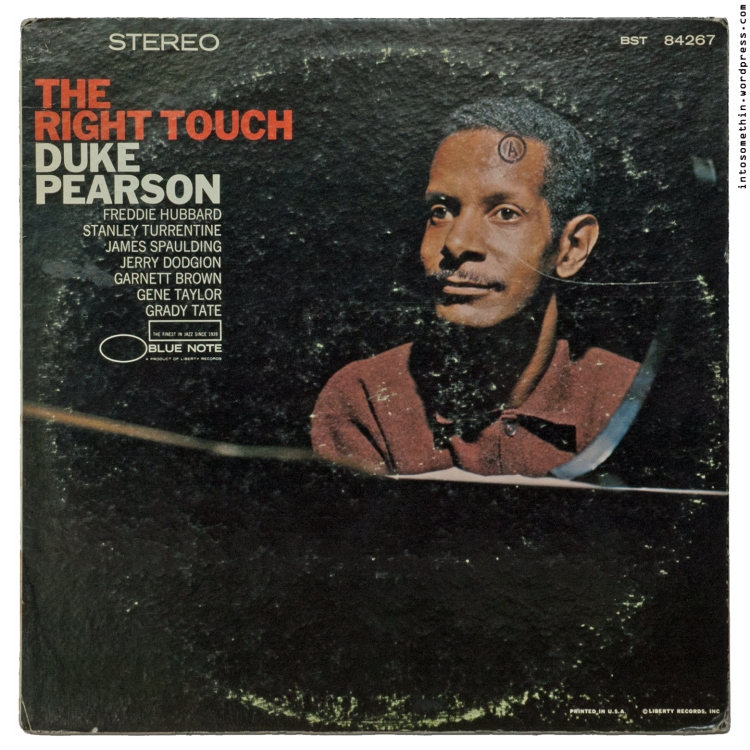 duke pearson - the right touch -front cover
